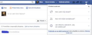 Facebook zabezpečení