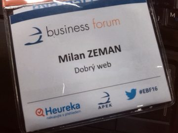 eBusiness Forum Milan Zeman