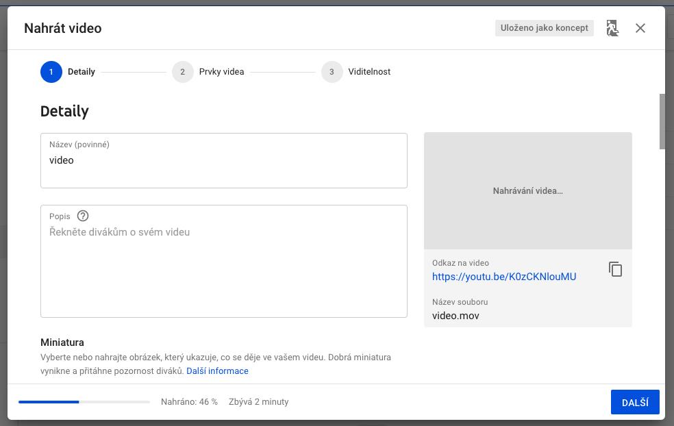 YouTube SEO - název a popis videa