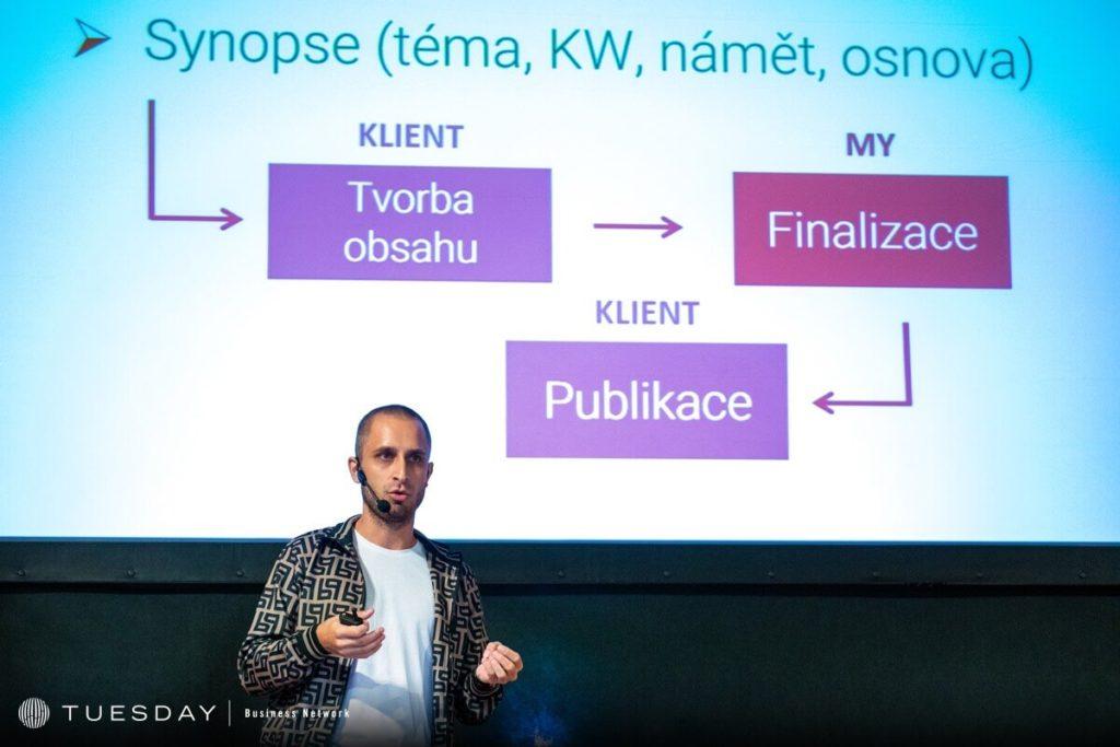 Milan Zeman přednáška o obsahovém marketingu